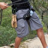 ハンチングを起すこと屋外人の殴打のズボンの膝の長さの戦闘の不足分をハイキングする
