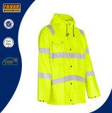 Сделайте Hi куртку водостотьким дождя курток 300d Оксфорд визави облегченную