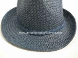 Sombrero de paja hecho a mano de papel del sombrero de ala del 100%