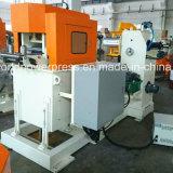 Alimentador automático da imprensa do metal de folha com Straightener e Uncoiler