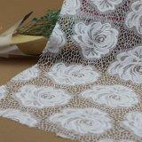 Cordón de nylon del estiramiento del ganchillo del bordado para los accesorios de las ropas