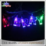 工場は直接新式の休日ライトクリスマスの装飾ライト星の形LEDストリングライトを提供する