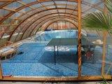 Panneau solide de polycarbonate de Lexan Sabic 4mm pour la couverture de piscine