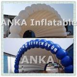 Tienda inflable comercial gigante del shell de la etapa para la demostración