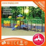 Oscillazione di plastica del giardino di Playset dell'oscillazione di alta qualità con la struttura di scalata