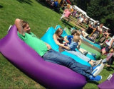 Le sofa gonflable rapide d'air 10 secondes ouvrent vite le sofa campant de sac paresseux de salon