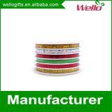 Poly bande s'enroulante colorée personnalisée de cadeau (WLG-1030)