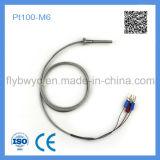 Détecteur de température fixe de la vis PT100-M6