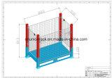 Сверхмощная коробка ячеистой сети или клетка хранения