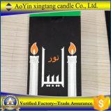 venta caliente del hogar de la vela 22g de la vela blanca barata de la vela en África
