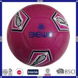 Le football officiel de PVC de promotion de la taille piqué par machine 5