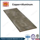 Tira bimetálica para a junção de cobre de alumínio da transição do revestimento