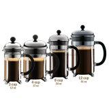 Máquina francesa do café da imprensa do francês do fabricante de café do aço inoxidável