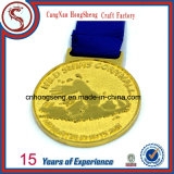 O Souvenir o mais novo 3D Metals Medal com Customized Ribbon