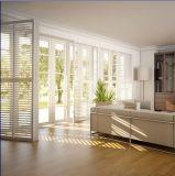 Alliage d'aluminium d'interruption thermique glissant la porte se pliante de Chambre