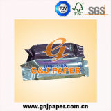 Papier synthétique thermique de pâte de bois pour l'imprimante visuelle sensible