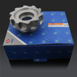 CNC Lathe Indexable Milling Cutter con Spare Parte, Face Milling Tool e Coating