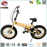 Motor sem escova elétrico Foldable da bateria de lítio da bicicleta do freio de disco da E-Bicicleta de En15194 350W