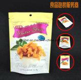 O malote de pé 3 camadas laminou o saco de plástico ereto para o pacote do alimento com o saco de plástico de pé do Zipper/
