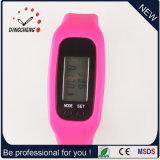 Vigilanze di Digitahi degli orologi delle signore della vigilanza del pedometro dell'orologio (DC-001)