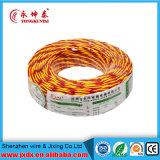 Zwei Kern-kupfernes Kabel-umsponnener elektrischer Draht, kupfernes Kabel, Energien-Kabel, twisted- pairkabel (BYW-8001)