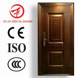 Diseño de acero de la puerta principal de la seguridad de la seguridad principal de los surtidores de China