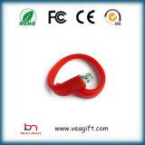 Ключ USB подгонял диск памяти привода 8GB пер Wristband PVC