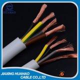 кабель 2X1.5mm2 H05VV-F электрический с утверждением SGS
