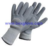 Перчатка теплого латекса зимы Coated