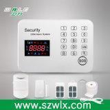 Alarma de ladrón sin hilos del sistema de alarma del G/M del telclado numérico del tacto del G/M