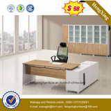 Muebles de oficinas de madera L vector de la oficina de encargado de la dimensión de una variable (HX-NT3283)