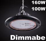 240W 200W 160W 100W IP65 imprägniern 1-10V PWM Widerstand Dimmable 100-277V, das LED-industrielles Licht verdunkelt