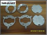 Анодированные алюминиевые подвергая механической обработке части для пользы Mechanial
