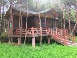 Villa en bois de la Chambre WPC du luxe WPC imperméable à l'eau avec la Chambre de construction préfabriquée de bonne qualité