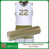 Vinil da transferência térmica do plutônio do cabo flexível da alta qualidade de Qingyi para a roupa