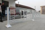 Balcón decorativo de acero galvanizado de alta calidad 18 que cercan con barandilla de la aleación de aluminio de Haohan