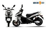 """Motocicleta poderosa do """"trotinette"""" de motor elétrico com o """"absorber"""" de choque da bolsa a ar"""
