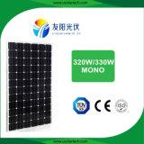 安定したパフォーマンスホームシステムのための高く効率的な330W太陽電池パネル