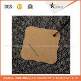 Venda quente feita sob encomenda Tag impressos do papel de embalagem de Brown