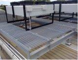 Plataforma de acero galvanizada de la INMERSIÓN caliente con la reja de acero