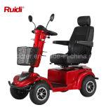 2017 scooter Handicapped de mobilité de la vente 4 de roue de scooter de pouvoir de roue de cabine chaude de présidence