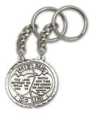 Moneda simbólica de encargo Keychain del carro de compras del supermercado