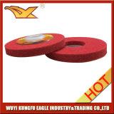 Диск волокна 4 дюймов истирательный с красным цветом