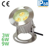 IP68 9W LED Unterwasserscheinwerfer, LED-Pool-Licht
