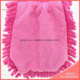 Цветастая перчатка синеля для домочадца/чистки кухни/окна