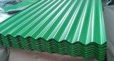 Покрынные цветом гальванизированные стальные листы толя PPGI