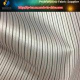 ポリエステルヤーンのスーツか衣服またはコート(S128.149)のための染められた縞の袖のライニングファブリック