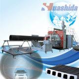 Пластичная линия штрангя-прессовани трубы из волнистого листового металла HDPE штрангпресса