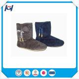 Ботинки дешевой оптовой зимы теплые крытые для женщин