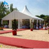 Tienda impermeable de la boda del acontecimiento del partido del PVC del claro de cristal para el partido